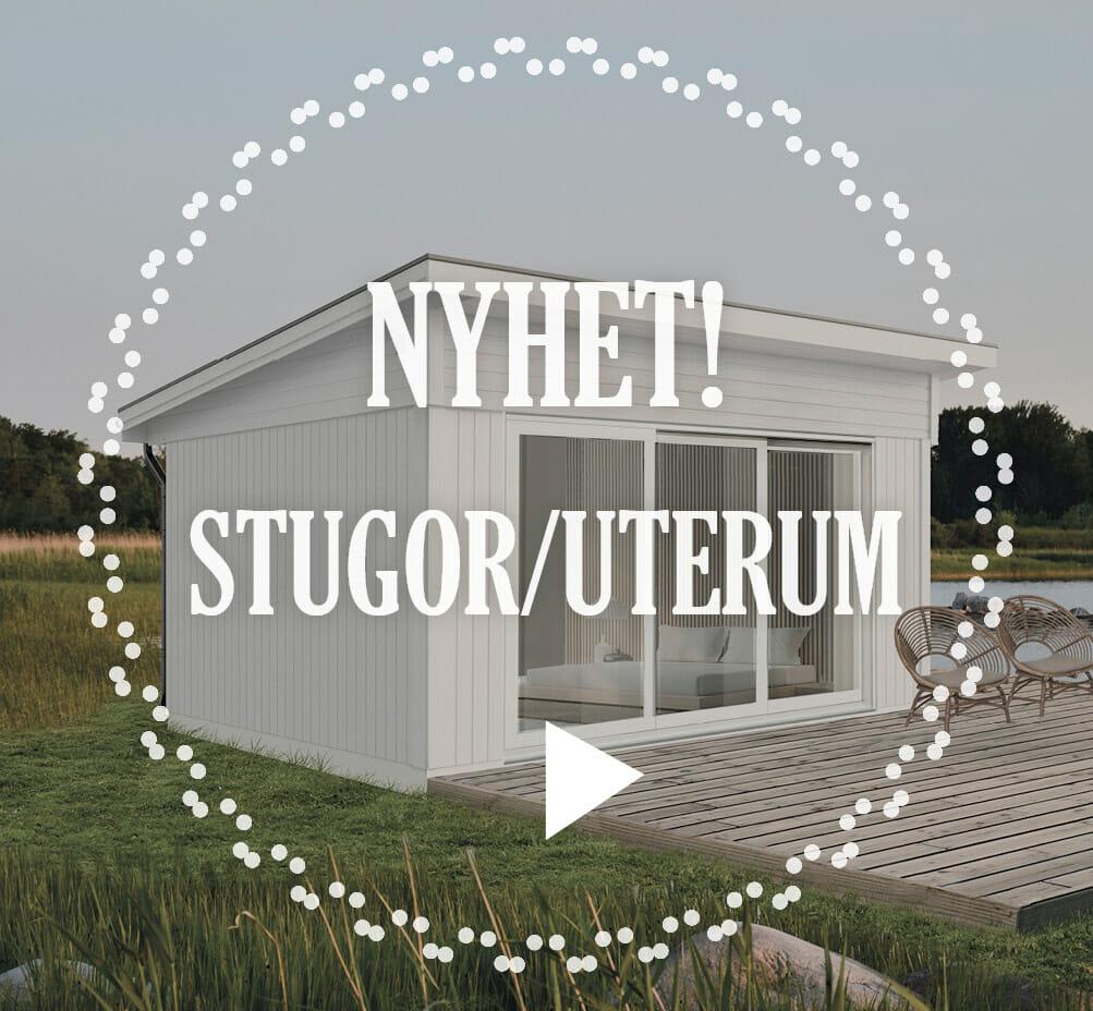 Uterum attefallshus friggebod byggsats